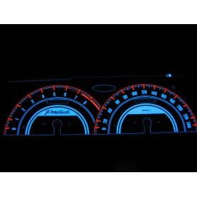 Honda Prelude 4 gen. świecące tarcze licznika zegary INDIGLO