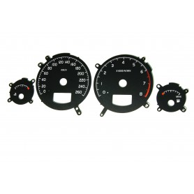 Volvo S60 / V70 / Replacement dial - converted from MPH to Km/h