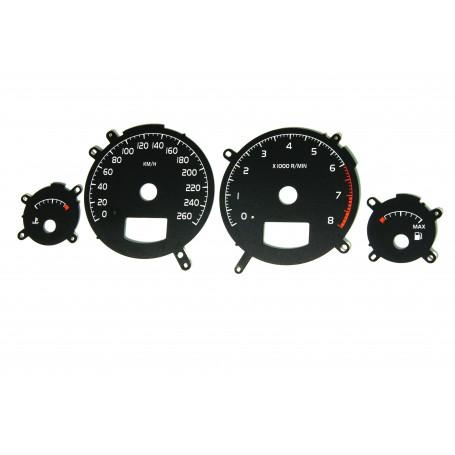 Volvo S60 / S70 / S80 / V70 / XC70 / XC90 - zamiennik z MPH na km