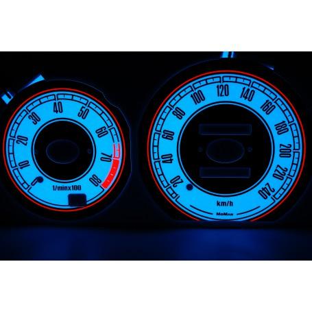 Mazda Cronos design 2 PLASMA TACHO GLOW GAUGES TACHOSCHEIBEN DIALS