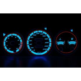 Mazda Cronos design 1 PLASMA TACHO GLOW GAUGES TACHOSCHEIBEN DIALS
