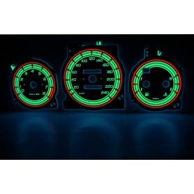 Mazda Xedos 6, 9, Millenia design 1 PLASMA TACHO GLOW GAUGES TACHOSCHEIBEN DIALS
