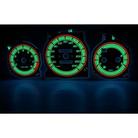 Mazda Xedos 6, 9, Millenia wzór 1 świecące tarcze licznika zegary INDIGLO