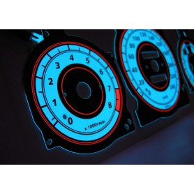 Mazda Xedos 6, 9, Millenia design 3 PLASMA TACHO GLOW GAUGES TACHOSCHEIBEN DIALS