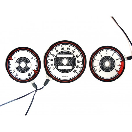 Daewoo Lanos Wzór 1 świecące tarcze licznika INDIGLO