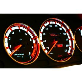 Mazda 323C, 323P, 323S, Protegé, Familia Van wzór 1 tarcze licznika zegary INDIGLO