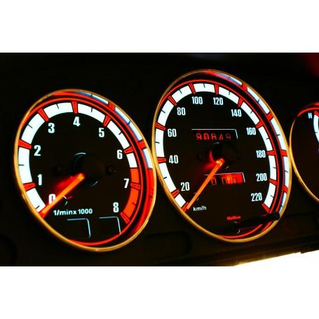 Mazda 323C, 323P, 323S, Protegé, Familia Van design 1 PLASMA TACHO GLOW GAUGES TACHOSCHEIBEN DIALS