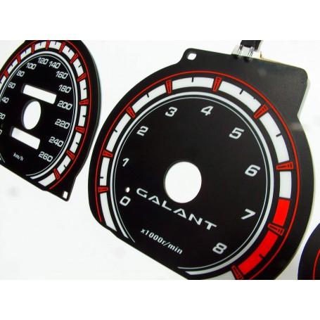 Mitsubishi Galant 1996-03 świecące tarcze licznika zegary INDIGLO