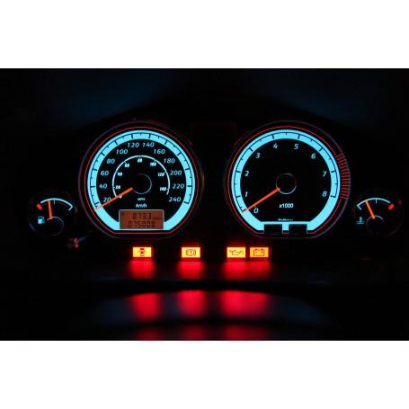 Mitsubishi Carisma wzór 1 świecące tarcze licznika zegary INDIGLO