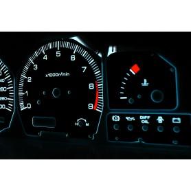 Nissan 200SX S13 1988-1993 design 1 PLASMA TACHO GLOW GAUGES TACHOSCHEIBEN DIALS