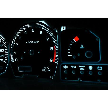 Nissan 200SX S13 1988-1993 wzór 1 tarcze licznika zegary INDIGLO