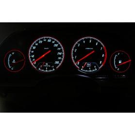 Nissan 300ZX design 1 PLASMA TACHO GLOW GAUGES TACHOSCHEIBEN DIALS