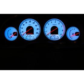 Nissan 300ZX wzór 2 świecące tarcze licznika zegary INDIGLO