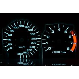 Nissan Maxima 1989-94 PLASMA TACHO GLOW GAUGES TACHOSCHEIBEN DIALS