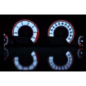 Nissan Pathfinder R51 / Navara D40 design 1 PLASMA TACHO GLOW GAUGES TACHOSCHEIBEN DIALS