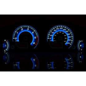 Nissan Pathfinder R51 / Navara D40 design 2 PLASMA TACHO GLOW GAUGES TACHOSCHEIBEN DIALS