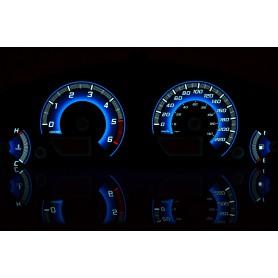 Nissan Pathfinder R51 / Navara D40 wzór 2 tarcze licznika zegary INDIGLO