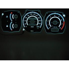 Nissan Primera P10 PLASMA TACHO GLOW GAUGES TACHOSCHEIBEN DIALS