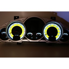 Porsche Cayenne 02-10 glow face gauge design 1