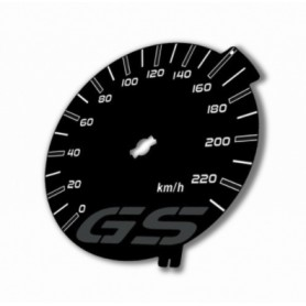 BMW GS - Replacement for counter MPH to km/h