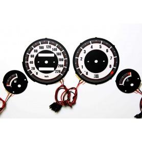 BMW K 1200 LT tarcze licznika zegary INDIGLO