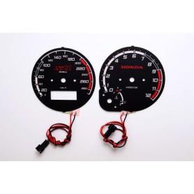 Honda CB 1100 SF X11 ('99-'03) wzór 2 tarcze licznika zegary INDIGLO