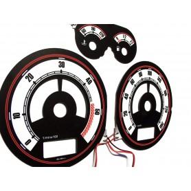 Audi A4 (B5) 95-01 Design 2 plasma tacho glow gauges tachoscheiben dials