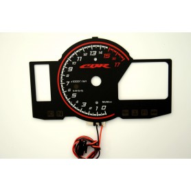 Honda CBR 600 RR wzór 2 tarcze licznika zegary INDIGLO