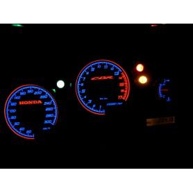 Honda CBR F4 ('99-'00) tarcze licznika zegary INDIGLO
