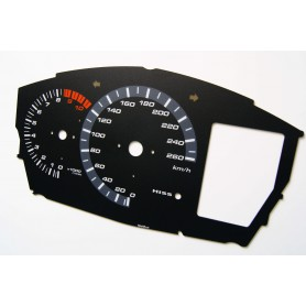 Honda ST 1300 Replacement dial - converted from MPH to Km/h