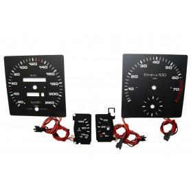 Audi 80 (B2) plasma tacho glow gauges tachoscheiben dials