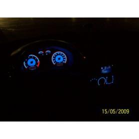 Volkswagen Polo 1998-1999 design 1 PLASMA TACHO GLOW GAUGES TACHOSCHEIBEN DIALS