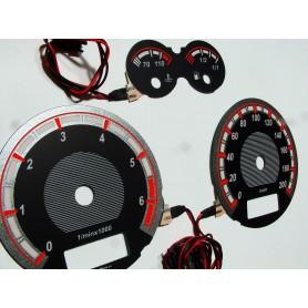 Seat Arosa (1996-2000) wzór 1 tarcze licznika zegary INDIGLO