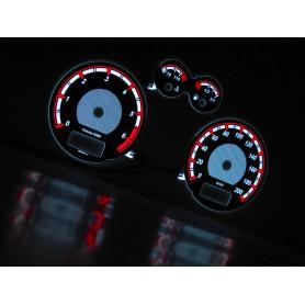 Seat Ibiza, Cordoba 1999-2002 design 2 PLASMA TACHO GLOW GAUGES TACHOSCHEIBEN DIALS