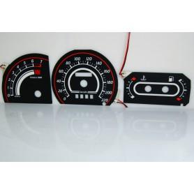 Ford Escort MK4 tarcze licznika zegary INDIGLO