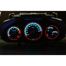 Ford Escort MK7 - z wyświetlaczem cyfrowym wzór 2 tarcze licznika zegary INDIGLO