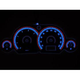 Ford Focus MK1 wzór 1 tarcze licznika zegary INDIGLO