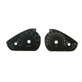 Peugeot 208 / 2008 - Replacement dial - converted from MPH to Km/h