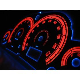 Ford Focus MK1 wzór 3 tarcze licznika zegary INDIGLO