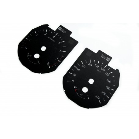 Nissan X-Trail / Rogue - Replacement dials gauges MPH to km/h tacho counter
