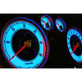 Ford Focus MK2 design 2 PLASMA TACHO GLOW GAUGES TACHOSCHEIBEN DIALS