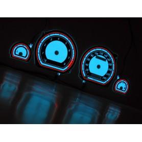Ford Mondeo MK1 i MK2 wzór 2 tarcze licznika zegary INDIGLO