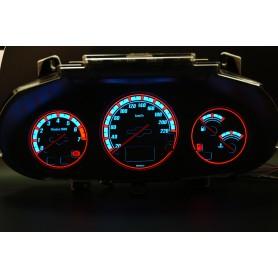 Ford Puma (1997-2002) - z wyświetlaczem cyfrowym wzór 2 tarcze licznika zegary INDIGLO