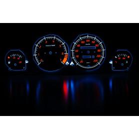 Opel Corsa B/Tigra design 1 PLASMA TACHO GLOW GAUGES TACHOSCHEIBEN DIALS