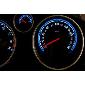 Opel Astra H design 2 PLASMA TACHO GLOW GAUGES TACHOSCHEIBEN DIALS