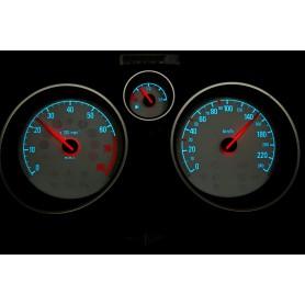 Opel Zafira B design 1 PLASMA TACHO GLOW GAUGES TACHOSCHEIBEN DIALS