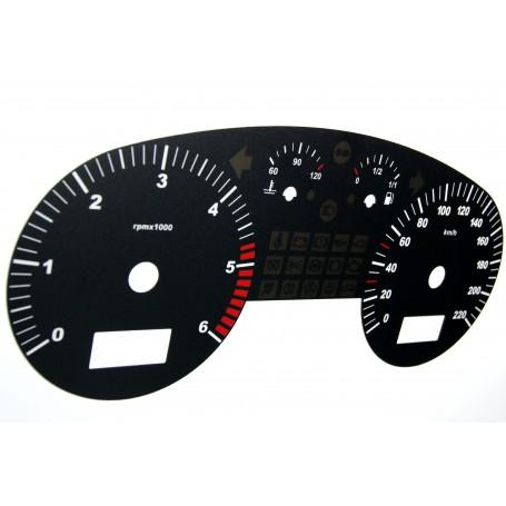 Seat Toledo 2 / Leon 1 - Replacement dial
