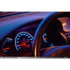Opel Calibra Wzór 2 tarcze licznika zegary INDIGLO