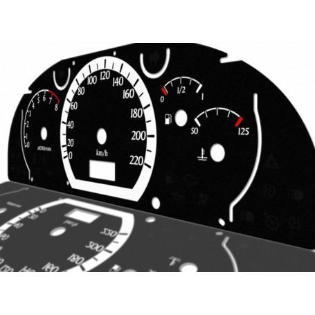 Chevrolet Lacetti - Zamiennik z MPH na km/h