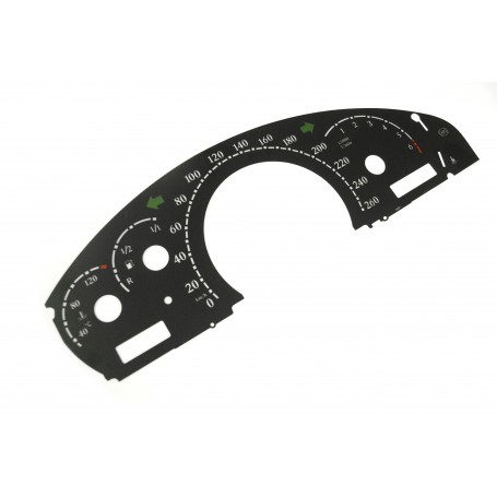 Maybach 57 (2002-2010) - replacement dials gauges from MPH to Km/h tacho counter